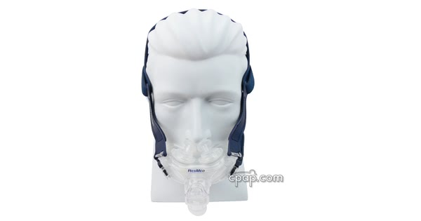 Mirage Liberty Full Face CPAP Mask with Nasal Pillows front