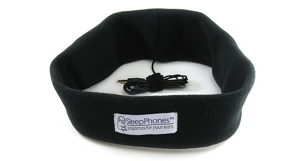 Fleece Fabric SleepPhones with Cord