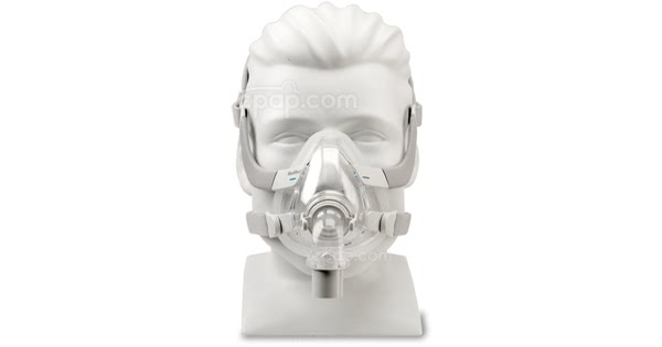 Front View of the AirFit™ F20 Full Face CPAP Mask with Headgear