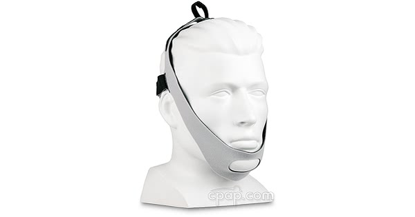 Airway Management Chinstrap with Tube Management Loop- Shown on Mannequin (Not Included)