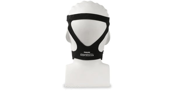 Black Headgear for ComfortGel Blue Full Face Mask (Mannequin Not Included)