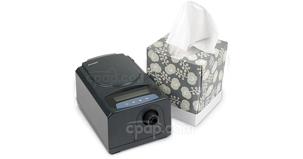 Curasa CPAP Machine - Front With Water Bottle (Not Included)