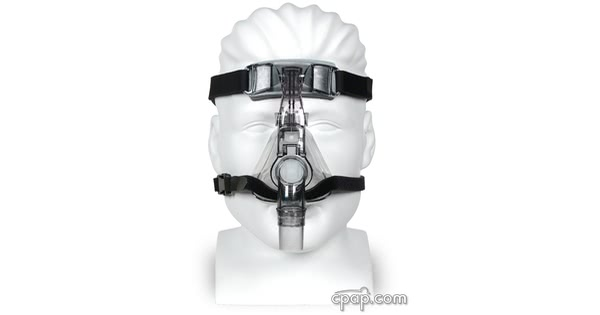 devilbiss flexset cpap mask front