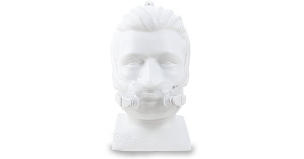 DreamWear Full Face CPAP Mask with Headgear - Front (Mannequin Not Included)