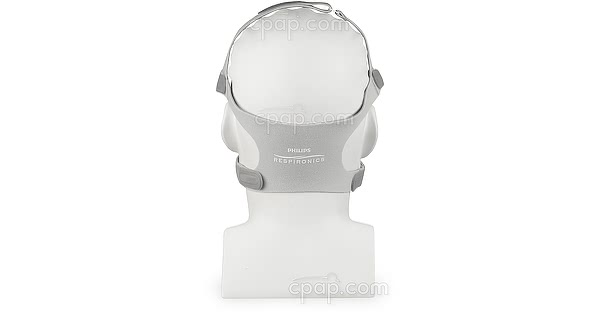 Current Headgear for FitLife Total Face CPAP Masks  - Dove Gray (Mannequin Not Included)