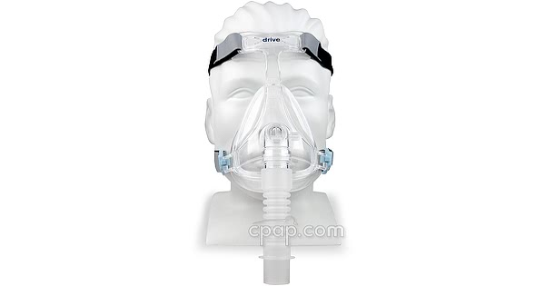 Freedom Full Face CPAP Mask (front - on mannequin)