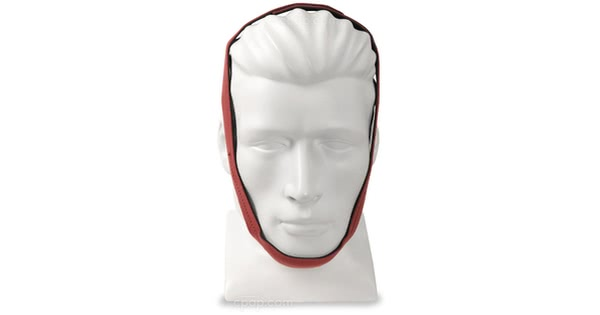 Current Version: Puresom Ultra Chinstrap - Front View on Mannequin (Mannequin Not Included)