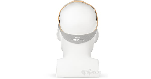 headgear nuance pro gel frame back on mannequin cpapdotcom