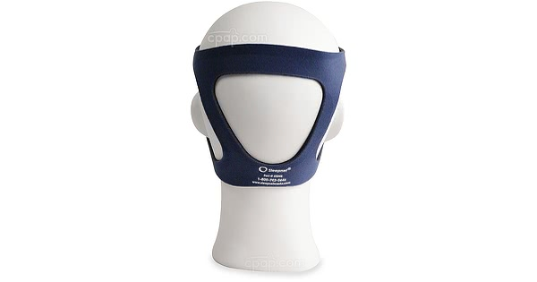 Current Style - Size Small Blue Headgear for MiniMe 2 Nasal Pediatric Mask with Headgear  (Mannequin Not Included)