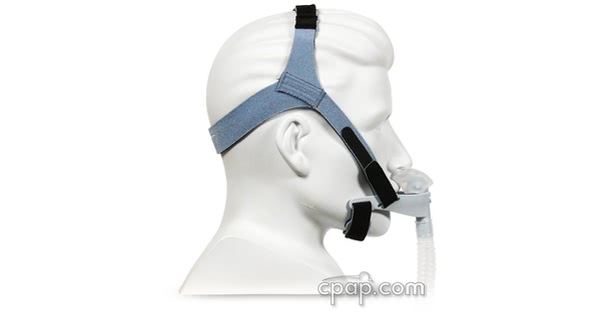 OptiLife with Nasal Pillow - Side - On Mannequin (Not Included)