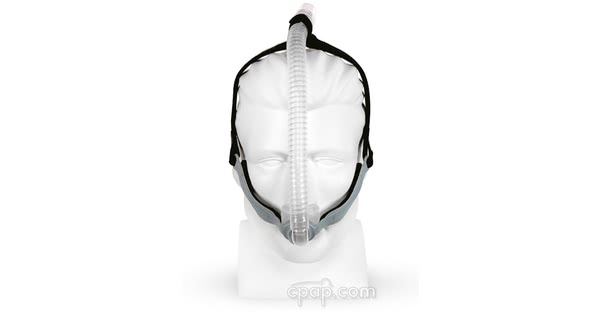 Opus 360 Nasal Pillow Mask (front - shown on mannequin)