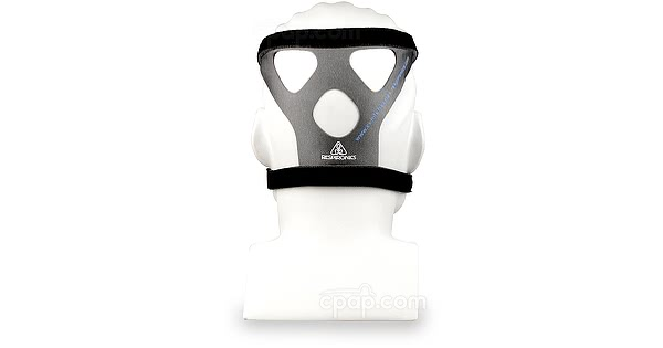 Original Premium Headgear for Comfort Series Nasal and Full Face CPAP Masks - Back View (Mannequin Not Included)