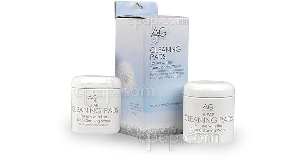 Cleaning Pads for Tube Cleaning Wand - Box and Two Jars