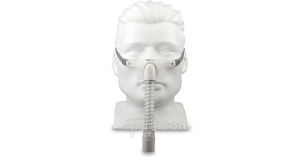 Pilairo Nasal Pillow CPAP Mask (Shown on Mannequin)