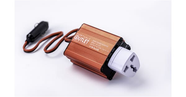 Portable Outlet Car Charger