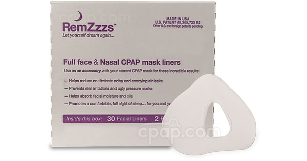 Remzzzs Full Face Cpap Mask Liners 30 Day Supply Cpapcom