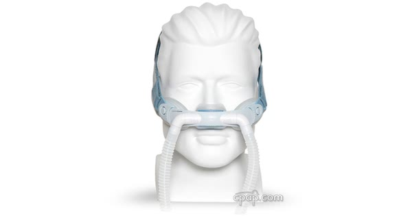 respironics comfort curve nasal cushion mask front