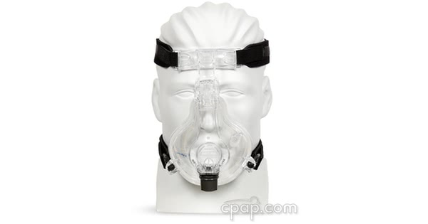 respironics comfortfull 2 full face cpap mask front