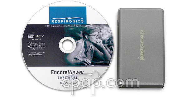 respironics encore software remstar system one cd sd card reader top