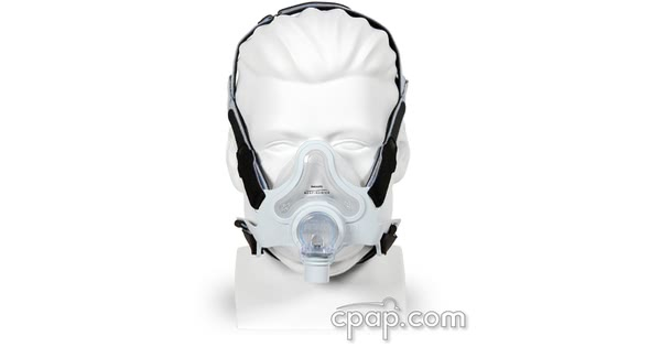 respironics fulllife full face cpap mask front