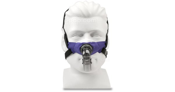 SleepWeaver 3D Nasal CPAP Mask with Headgear - Front (Mannequin Not Included)
