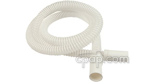 UltraLite Pure White Slim Cuff 6 Foot Performance CPAP/BiPAP Tubing