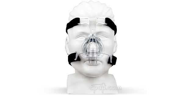 Zest Q Nasal CPAP Mask Headgear (Front- shown on mannequin)