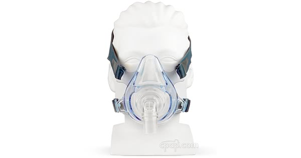 Zzz-Mask SG Full Face CPAP Mask - Front (Mannequin Not Included)