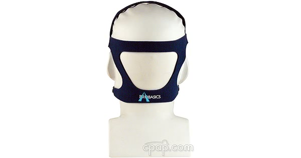 Zzz-Mask SG Nasal Headgear - shown with Mask & Mannequin